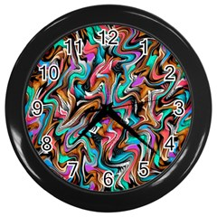 5 4 1 9 Wall Clocks (black)