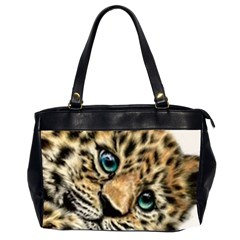 Jaguar Cub Office Handbags (2 Sides)  by ArtByThree