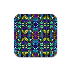 P 841 Rubber Coaster (square)  by ArtworkByPatrick