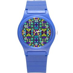P 841 Round Plastic Sport Watch (s) by ArtworkByPatrick