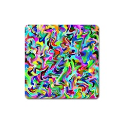Artwork By Patrick Pattern 9 Square Magnet
