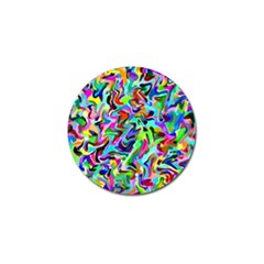 Artwork By Patrick Pattern 9 Golf Ball Marker (10 Pack)