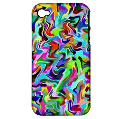 Artwork By Patrick Pattern 9 Apple Iphone 4/4s Hardshell Case (pc+silicone)