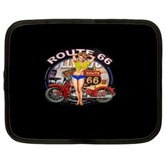 Route 66 Netbook Case (xl)  by ArtworkByPatrick