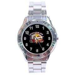 Route 66 Stainless Steel Analogue Watch by ArtworkByPatrick