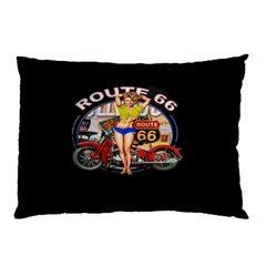 Route 66 Pillow Case (two Sides) by ArtworkByPatrick