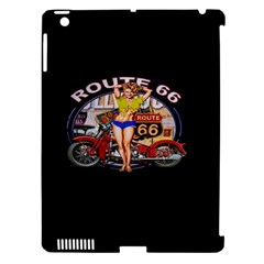 Route 66 Apple Ipad 3/4 Hardshell Case (compatible With Smart Cover) by ArtworkByPatrick