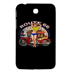 Route 66 Samsung Galaxy Tab 3 (7 ) P3200 Hardshell Case  by ArtworkByPatrick