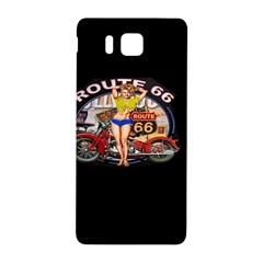 Route 66 Samsung Galaxy Alpha Hardshell Back Case by ArtworkByPatrick