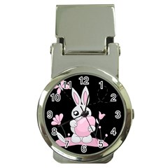Easter Bunny  Money Clip Watches by Valentinaart