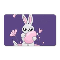 Easter Bunny  Magnet (rectangular) by Valentinaart