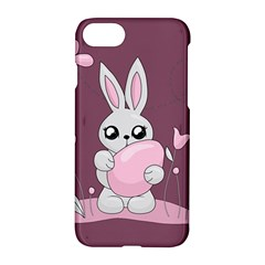 Easter Bunny  Apple Iphone 7 Hardshell Case by Valentinaart