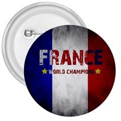 Football World Cup 3  Buttons by Valentinaart