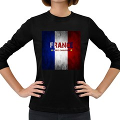 Football World Cup Women s Long Sleeve Dark T Shirts by Valentinaart
