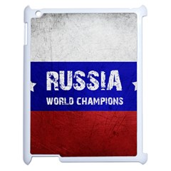 Football World Cup Apple Ipad 2 Case (white) by Valentinaart