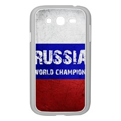 Football World Cup Samsung Galaxy Grand Duos I9082 Case (white) by Valentinaart