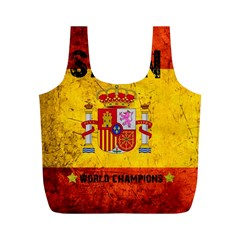 Football World Cup Full Print Recycle Bags (m)  by Valentinaart
