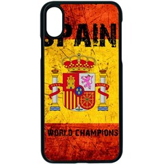 Football World Cup Apple Iphone X Seamless Case (black) by Valentinaart