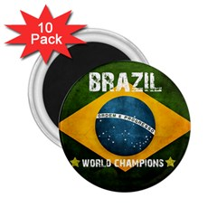 Football World Cup 2 25  Magnets (10 Pack)  by Valentinaart