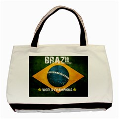 Football World Cup Basic Tote Bag (two Sides) by Valentinaart