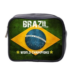 Football World Cup Mini Toiletries Bag 2 Side by Valentinaart