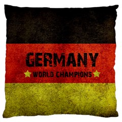Football World Cup Large Flano Cushion Case (two Sides) by Valentinaart