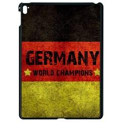 Football World Cup Apple Ipad Pro 9 7   Black Seamless Case by Valentinaart