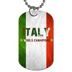 Football World Cup Dog Tag (one Side) by Valentinaart