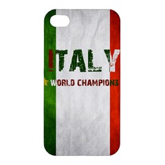 Football World Cup Apple Iphone 4/4s Premium Hardshell Case by Valentinaart