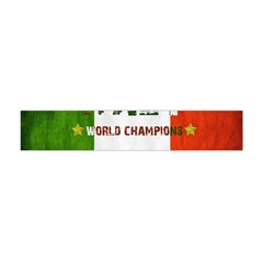 Football World Cup Flano Scarf (mini) by Valentinaart