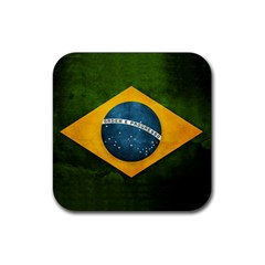 Football World Cup Rubber Square Coaster (4 Pack)  by Valentinaart