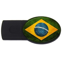 Football World Cup Usb Flash Drive Oval (4 Gb) by Valentinaart