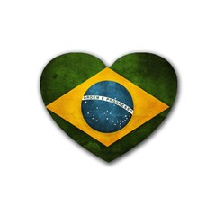 Football World Cup Rubber Coaster (heart)  by Valentinaart