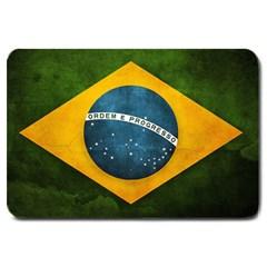 Football World Cup Large Doormat  by Valentinaart