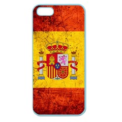 Football World Cup Apple Seamless Iphone 5 Case (color) by Valentinaart