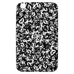 Black And White Abstract Texture Samsung Galaxy Tab 3 (8 ) T3100 Hardshell Case  by dflcprints