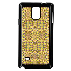 Forest Rainbow  Wood And Festive Soul Samsung Galaxy Note 4 Case (black) by pepitasart