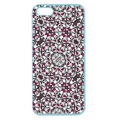 Boho Bold Vibrant Ornate Pattern Apple Seamless Iphone 5 Case (color) by dflcprints