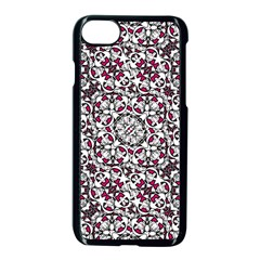 Boho Bold Vibrant Ornate Pattern Apple Iphone 7 Seamless Case (black) by dflcprints