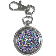 Pattern 10 Key Chain Watches