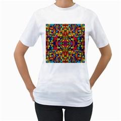 P 786 Women s T Shirt (white)