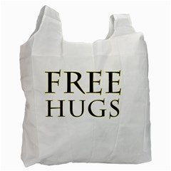 Freehugs Recycle Bag (one Side) by cypryanus