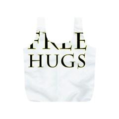 Freehugs Full Print Recycle Bags (s)  by cypryanus