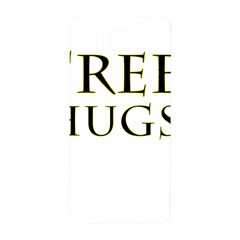 Freehugs Samsung Galaxy Alpha Hardshell Back Case by cypryanus
