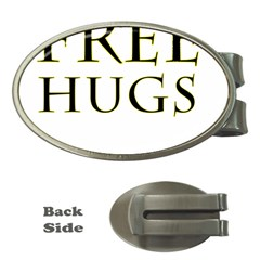 Freehugs Money Clips (oval)  by cypryanus