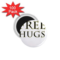 Freehugs 1 75  Magnets (100 Pack)  by cypryanus