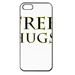 Freehugs Apple Iphone 5 Seamless Case (black) by cypryanus