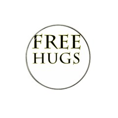 Freehugs Hat Clip Ball Marker by cypryanus