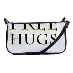 Freehugs Shoulder Clutch Bags by cypryanus