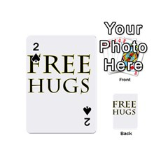 Freehugs Playing Cards 54 (mini)  by cypryanus